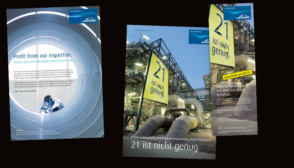 Linde Gas Printkommunikation