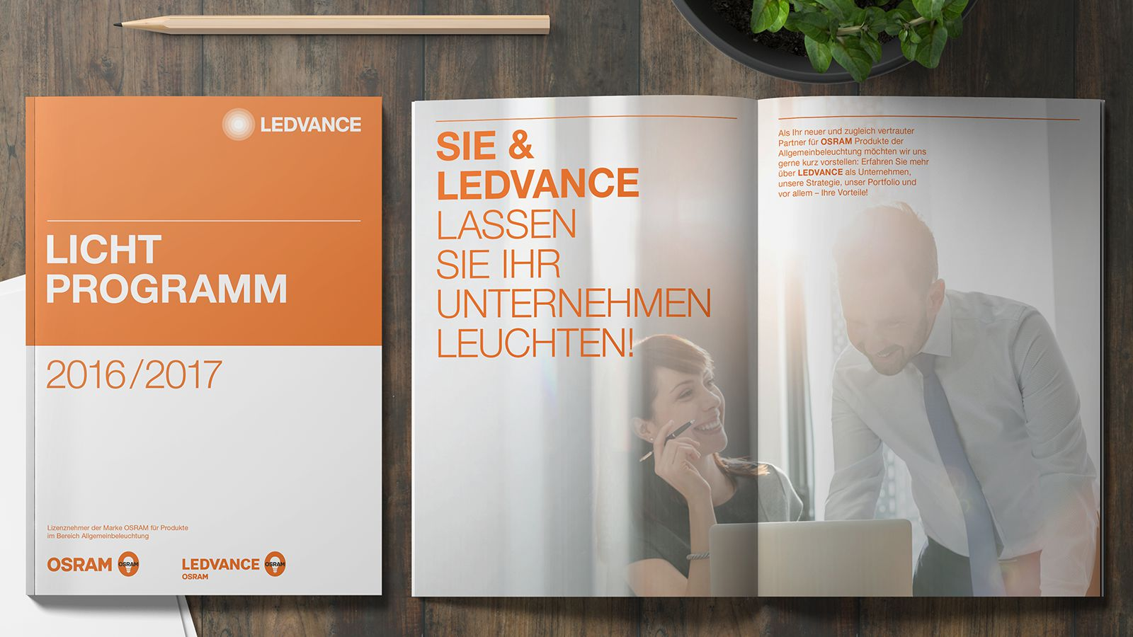 Catalog design| LEDVANCE