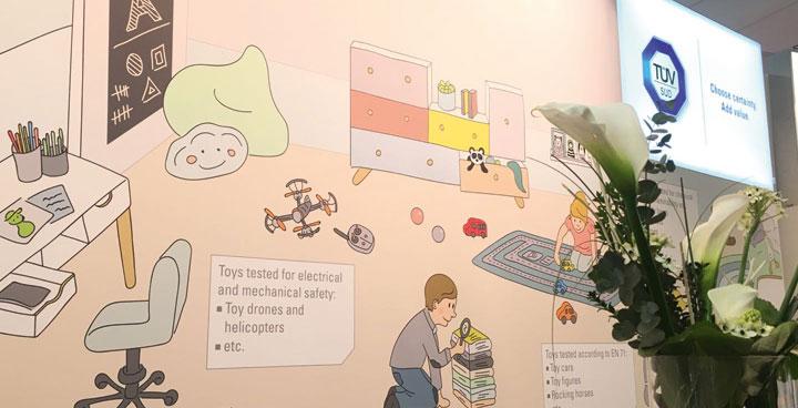 spielwarenmesse in n rnberg im kinderzimmer steckt auch t v s d l hr partner werbeagentur. Black Bedroom Furniture Sets. Home Design Ideas