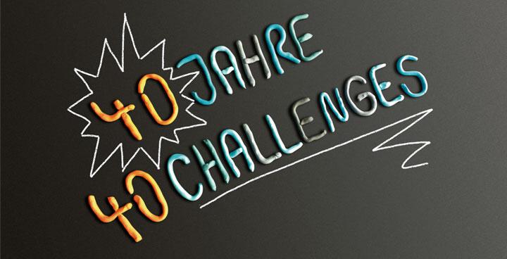 L&P feiert Jubiläum - 40 Jahre 40 Challenges