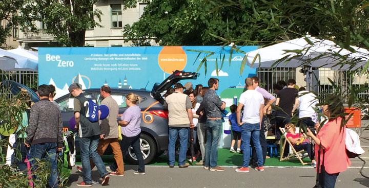 Streetlife in München - BeeZero wieder on Tour