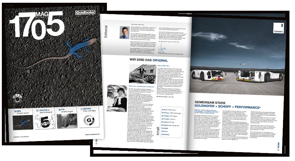 Goldhofer - Kundenmagazin MAG1705