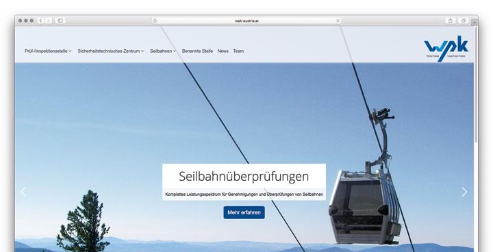 Neuer Webauftritt - WPK Austria geliftet