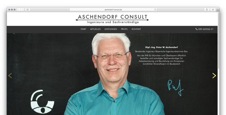 Relaunch der Website - Moderner Auftritt bringt Aschendorf Consult nach vorne