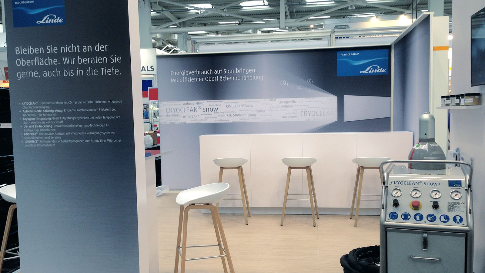 Trade fair design | Linde