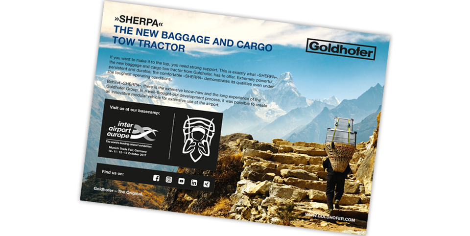 Goldhofer Group - Produkteinführungskampagne SHERPA