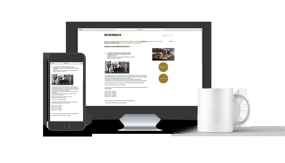 Heiderbeck Online Anmeldeplattform