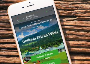 Web relaunch | Reit im Winkl Golf Club