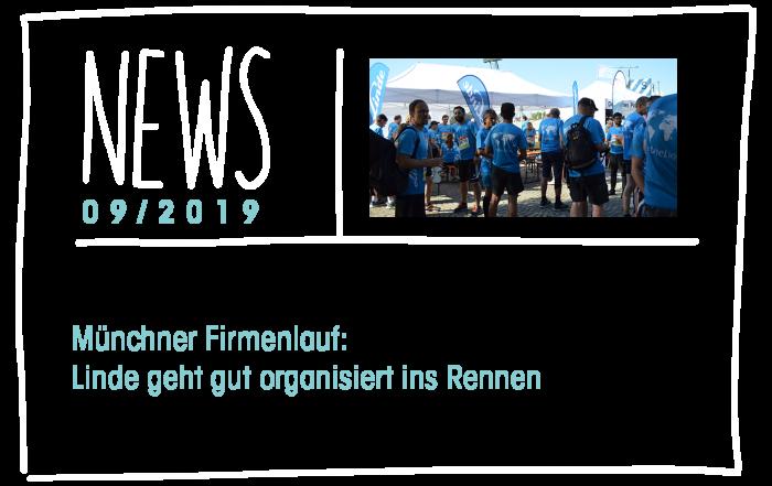 Münchner Firmenlauf: Linde geht gut organisiert ins Rennen