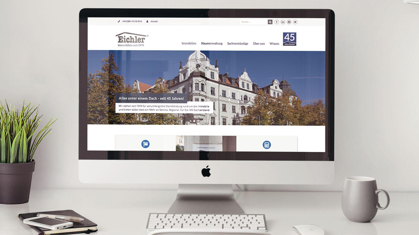 Webrelaunch | Eichler Immobilien