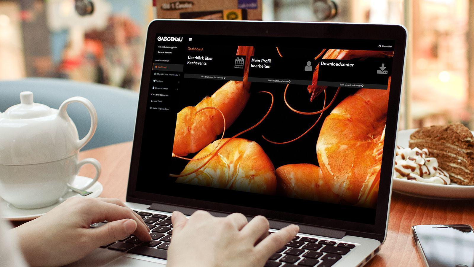 Online service portal | Gaggenau